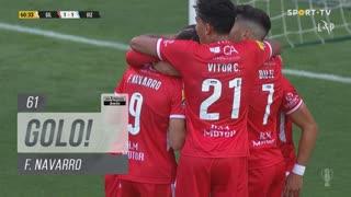 GOLO! Gil Vicente FC, F. Navarro aos 61', Gil Vicente FC 1-1 FC Vizela