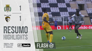 I Liga (5ªJ): Resumo Flash Boavista FC 1-1 Portimonense