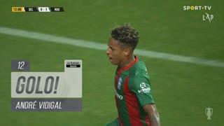 GOLO! Marítimo M., André Vidigal aos 12', Belenenses SAD 0-1 Marítimo M.