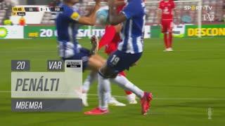 FC Porto, Penálti, Mbemba aos 20'
