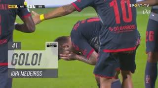 GOLO! SC Braga, Iuri Medeiros aos 41', Moreirense FC 0-2 SC Braga