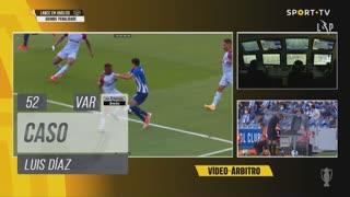 FC Porto, Caso, Luis Díaz aos 52'
