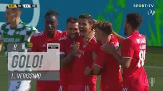 GOLO! SL Benfica, L. Verissimo aos 8', Moreirense FC 0-1 SL Benfica