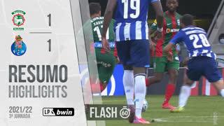 I Liga (3ªJ): Resumo Flash Marítimo M. 1-1 FC Porto