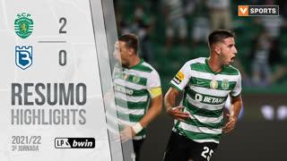I Liga (3ªJ): Resumo Sporting CP 2-0 Belenenses SAD