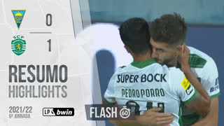 I Liga (6ªJ): Resumo Flash Estoril Praia 0-1 Sporting CP