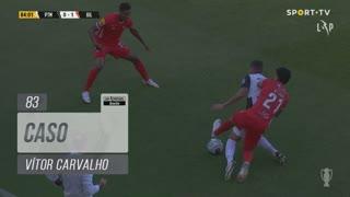 Gil Vicente FC, Caso, Vítor Carvalho aos 83'