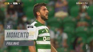 Sporting CP, Jogada, Paulinho aos 26'