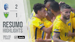 Liga Portugal bwin (2ªJ): Resumo FC Vizela 2-1 CD Tondela