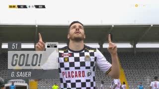 GOLO! Boavista FC, G. Sauer aos 51', FC Vizela 0-1 Boavista FC