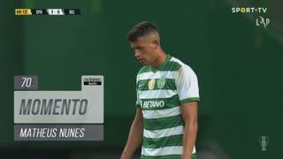 Sporting CP, Jogada, Matheus Nunes aos 70'