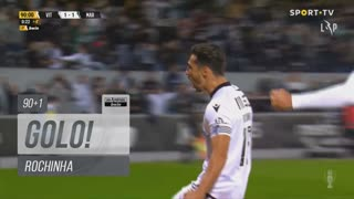 GOLO! Vitória SC, Rochinha aos 90'+1', Vitória SC 2-1 Marítimo M.