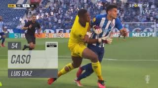 FC Porto, Caso, Luis Díaz aos 54'