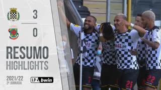 I Liga (2ªJ): Resumo Boavista FC 3-0 FC P.Ferreira