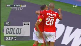 GOLO! SL Benfica, Gilberto aos 88', SL Benfica 2-1 CD Tondela