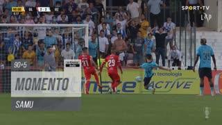 FC Vizela, Jogada, Samu aos 90'+5'