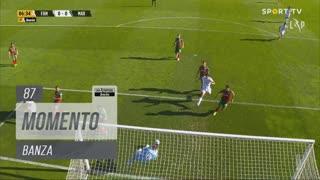 FC Famalicão, Jogada, Banza aos 87'
