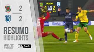 I Liga (7ªJ): Resumo FC P.Ferreira 2-2 Belenenses SAD
