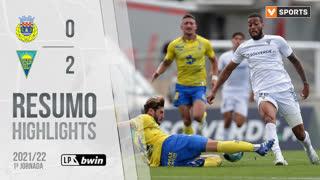Liga Portugal bwin (1ªJ): Resumo FC Arouca 0-2 Estoril Praia
