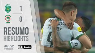 Liga Portugal bwin (7ªJ): Resumo Sporting CP 1-0 Marítimo M.