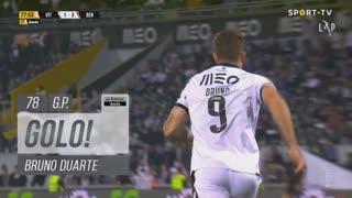 GOLO! Vitória SC, Bruno Duarte aos 78', Vitória SC 1-3 SL Benfica