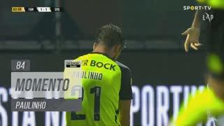 Sporting CP, Jogada, Paulinho aos 84'