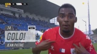 GOLO! Santa Clara, Jean Patric aos 74', FC Vizela 0-1 Santa Clara