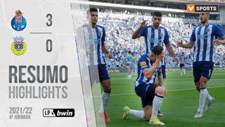 Liga Portugal bwin (4ªJ): Resumo FC Porto 3-0 FC Arouca