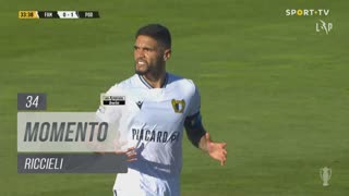 FC Famalicão, Jogada, Riccieli aos 34'