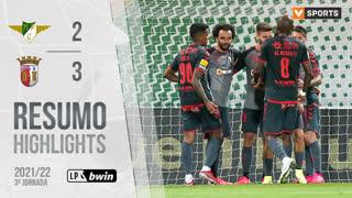 Liga Portugal bwin (3ªJ): Resumo Moreirense FC 2-3 SC Braga
