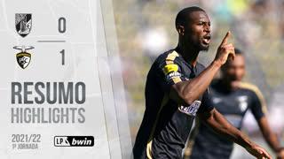 I Liga (1ªJ): Resumo Vitória SC 0-1 Portimonense