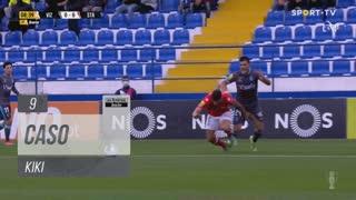 FC Vizela, Caso, Kiki aos 9'