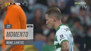 Sporting CP, Jogada, Nuno Santos aos 22'