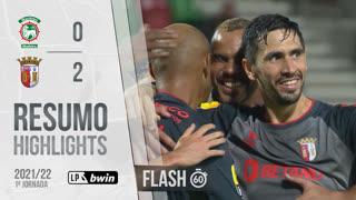 I Liga (1ªJ): Resumo Flash Marítimo M. 0-2 SC Braga