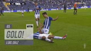 GOLO! FC Porto, Luis Díaz aos 65', FC Porto 3-0 Moreirense FC