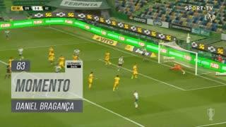 Sporting CP, Jogada, Daniel Bragança aos 83'