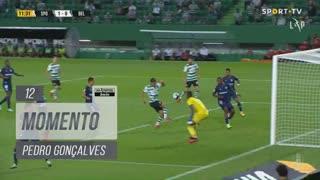 Sporting CP, Jogada, Pedro Gonçalves aos 12'