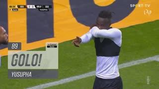 GOLO! Boavista FC, Yusupha aos 89', SC Braga 2-2 Boavista FC