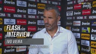 Ivo Vieira destacou a entrega na segunda parte