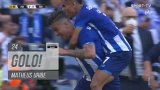 GOLO! FC Porto, Matheus Uribe aos 24', FC Porto 1-0 FC Arouca