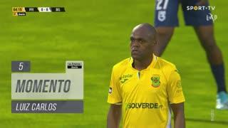 FC P.Ferreira, Jogada, Luiz Carlos aos 5'