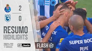I Liga (1ªJ): Resumo Flash FC Porto 2-0 Belenenses SAD