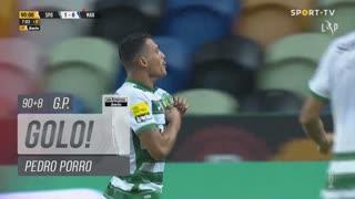 GOLO! Sporting CP, Pedro Porro aos 90'+8', Sporting CP 1-0 Marítimo M.