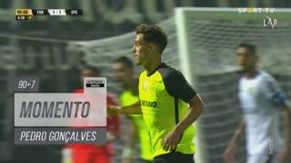 Sporting CP, Jogada, Pedro Gonçalves aos 90'+7'
