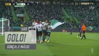GOLO! Sporting CP, Gonçalo Inácio aos 7', Sporting CP 1-0 Belenenses SAD
