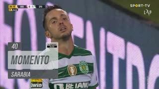 Sporting CP, Jogada, Sarabia aos 40'