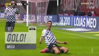GOLO! Boavista FC, Musa aos 12', SC Braga 0-1 Boavista FC