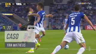 Moreirense FC, Caso, Yan Matheus aos 77'