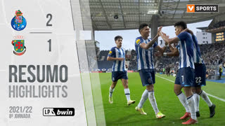 Liga Portugal bwin (8ªJ): Resumo FC Porto 2-1 FC P.Ferreira
