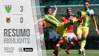 Liga Portugal bwin (1ªJ): Resumo CD Tondela 3-0 Santa Clara